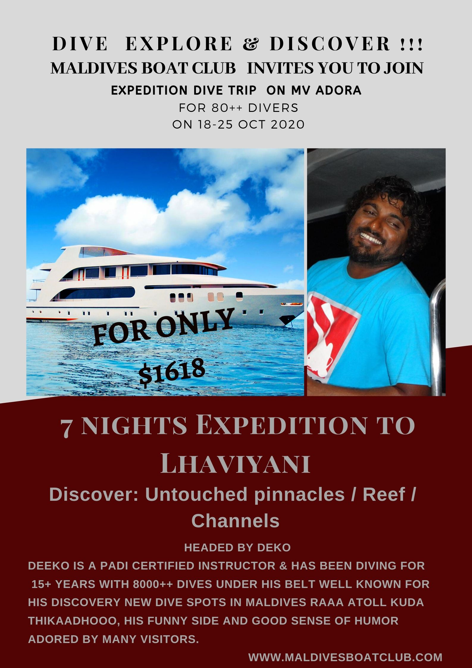 EXPEDITION TO LHAVIYANI